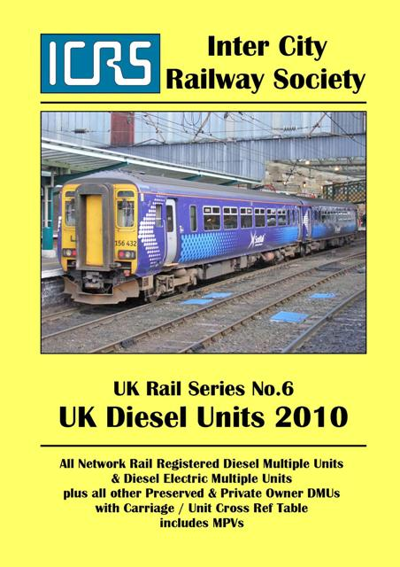 UKRS06 UK Diesel Units 2010