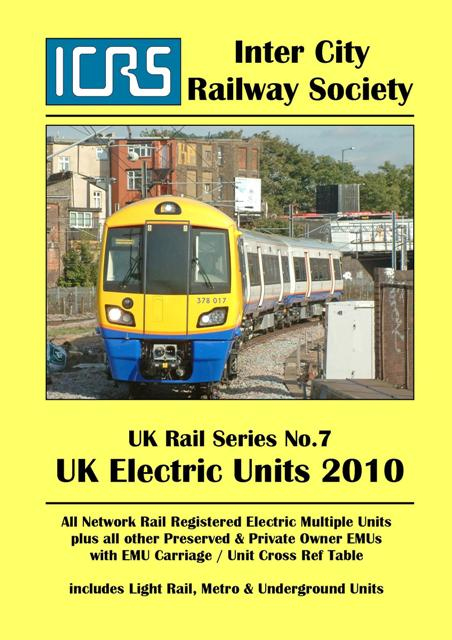 UKRS07 UK Electric Units 2010